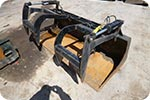 72 inch grapple bucket attachment for skidsteer description link