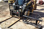 Skid Steer fork attachment description link